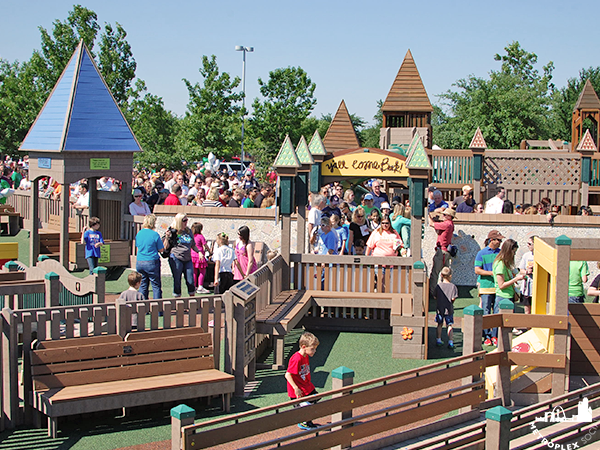 best playground collin county fully accessible hope park frisco tx