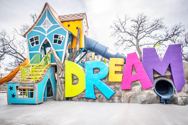 best playgrounds in dfw dream park fort worth