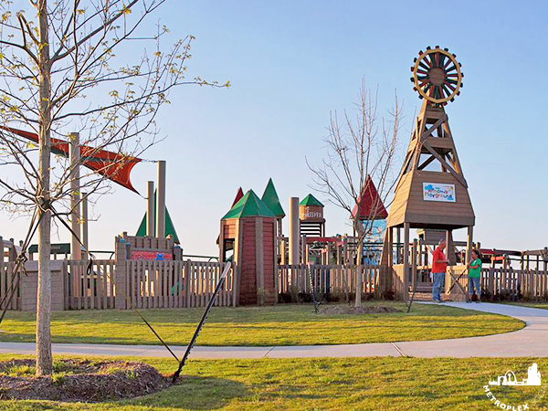 playground windmill park prosper texas 2