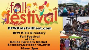 DFW Kids Directory Fall Festival 2019 @ Dallas Farmers Market |  |  |