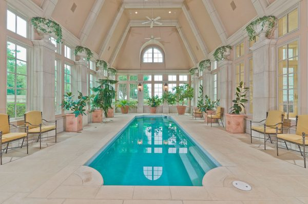 champ d'or hickory creek dallas mansion pool