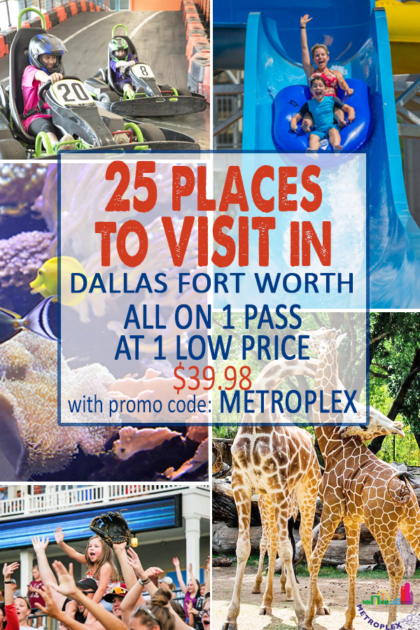 places to visit in dallas fort worth POGO PASS metroplex social KIDS