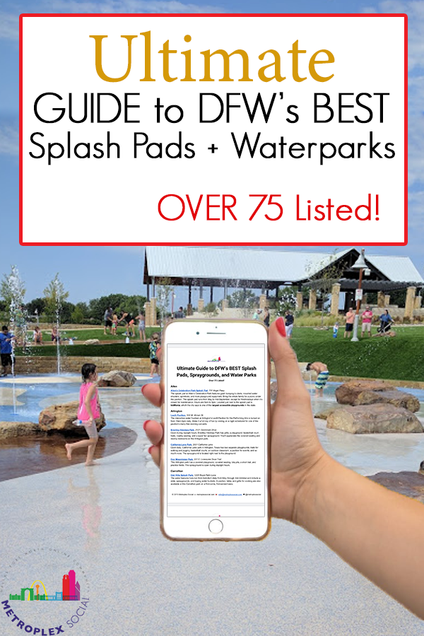 best splash pads and water parks in dfw guide