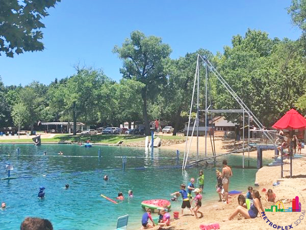 burgers lake fort worth top swimming hole dfw 2