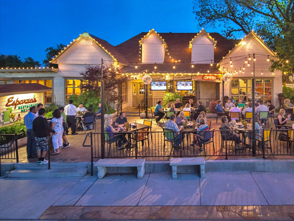 outdoor patio restaurants dfw esparzas grapevine
