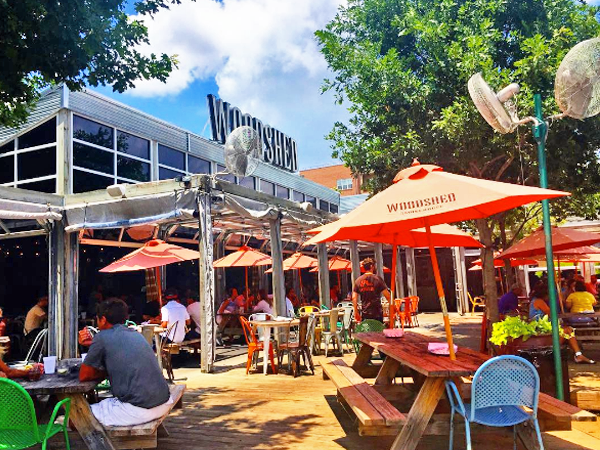 woodshed smokehouse outdoor patio fort worth
