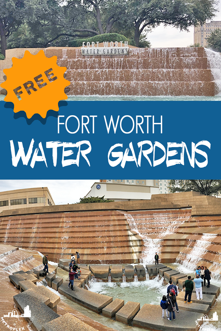 fort worth water gardens PIN