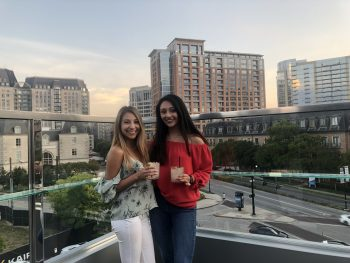 Rooftop bar in Dallas