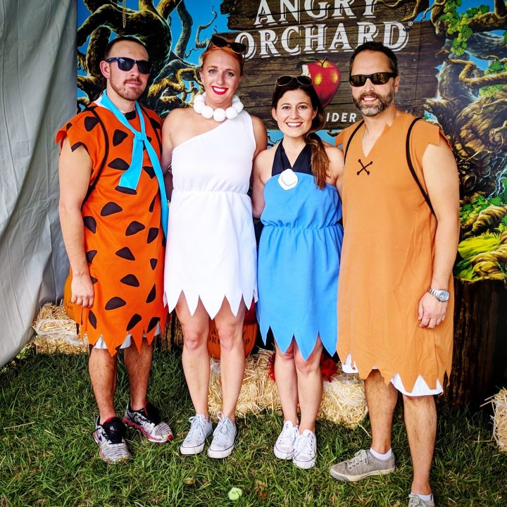 Flintstone Group costume