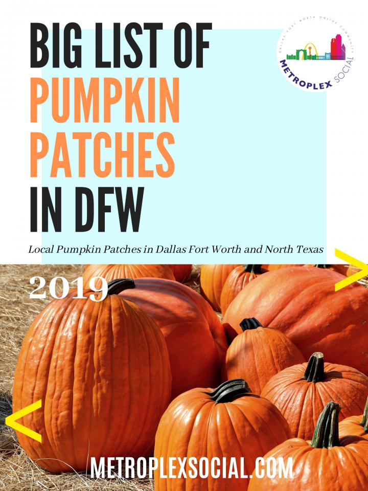 pumpkin patches in dfw big list