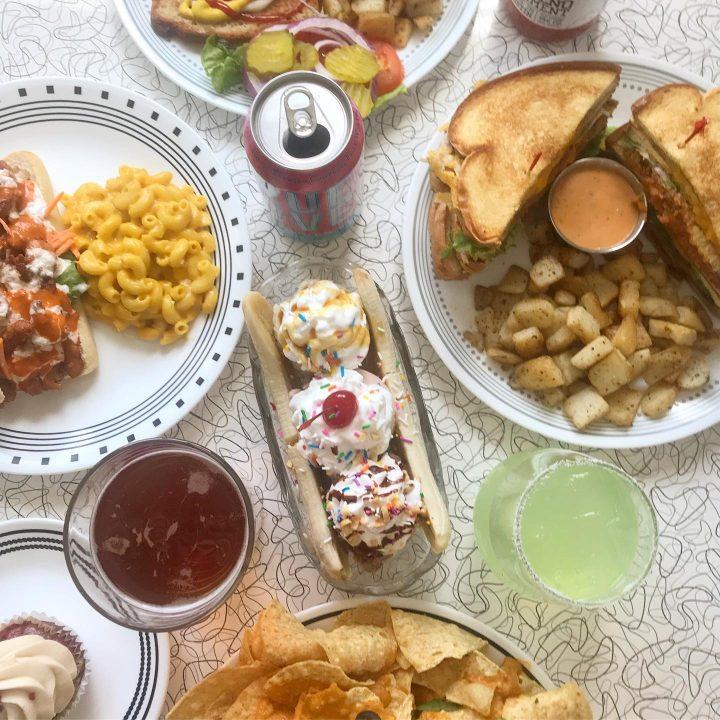 vegan diner food dallas