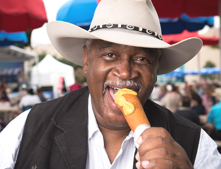 texas state fair food CORNY DOG 2019