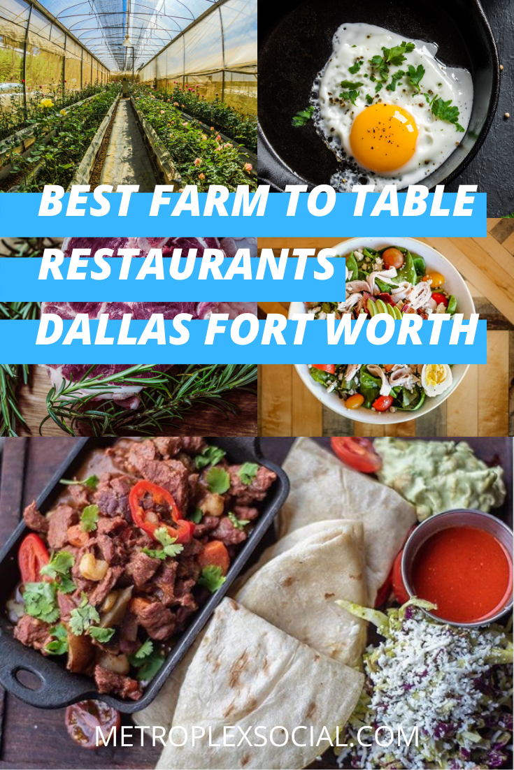 best farm to table restaurants in dallas fort worth