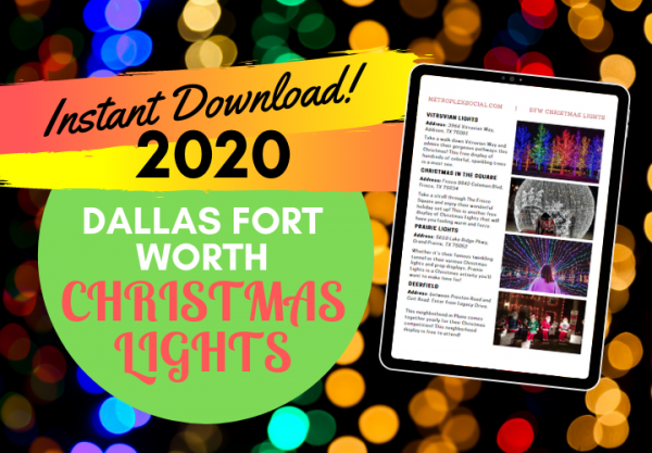 Best Neighborhoods to View Christmas Light Displays In Dallas This