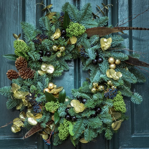 holiday wreath ideas dallas 12