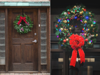 holiday wreath ideas dallas