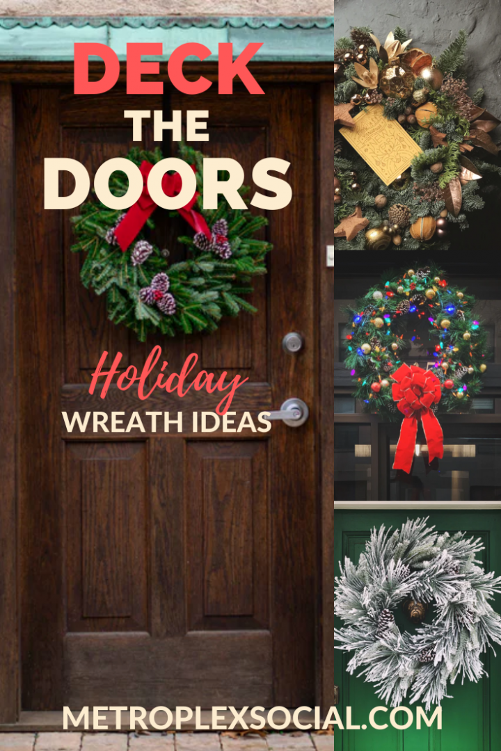 holiday wreath ideas dallas fort worth