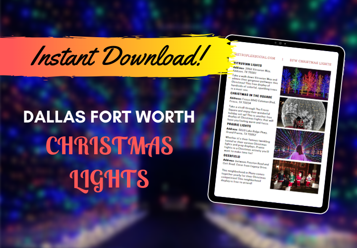 holiday lights in dallas best list