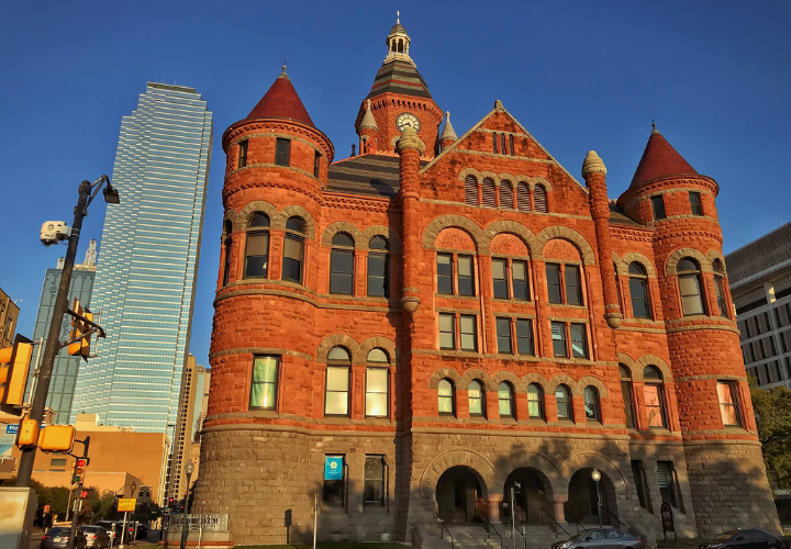 downtown dallas old red museum