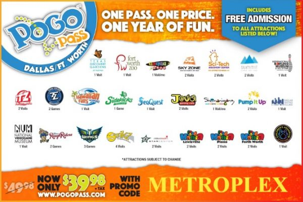 visit dfw on the cheap pogo pass local attractions