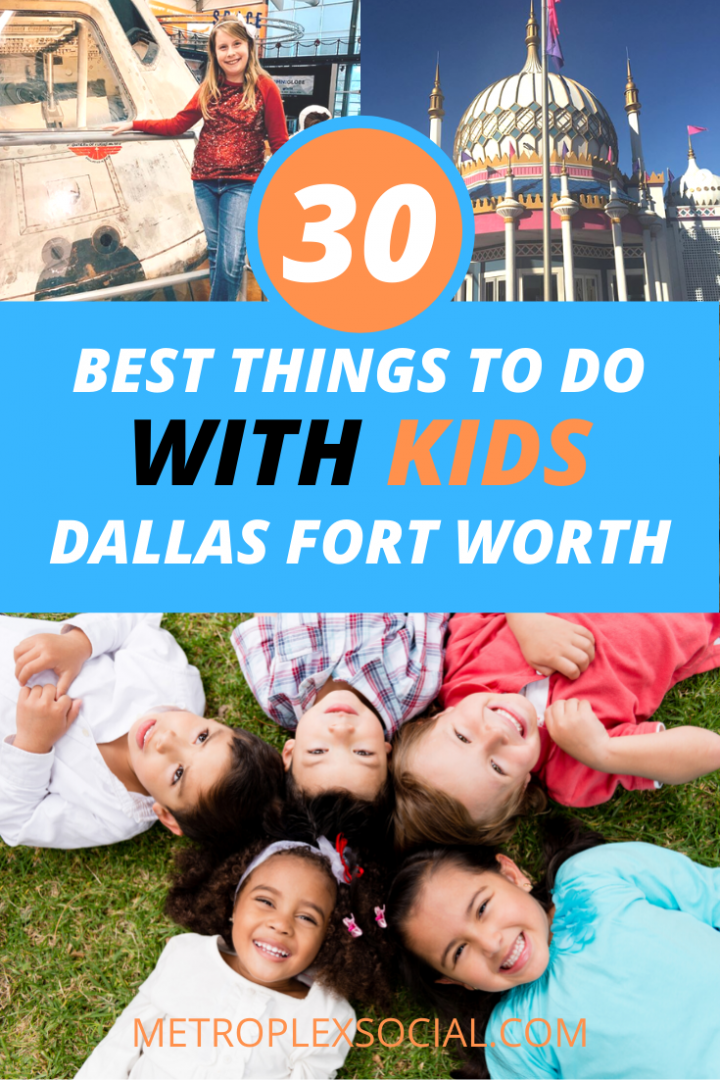 best things to do with kids in dallas fort worth