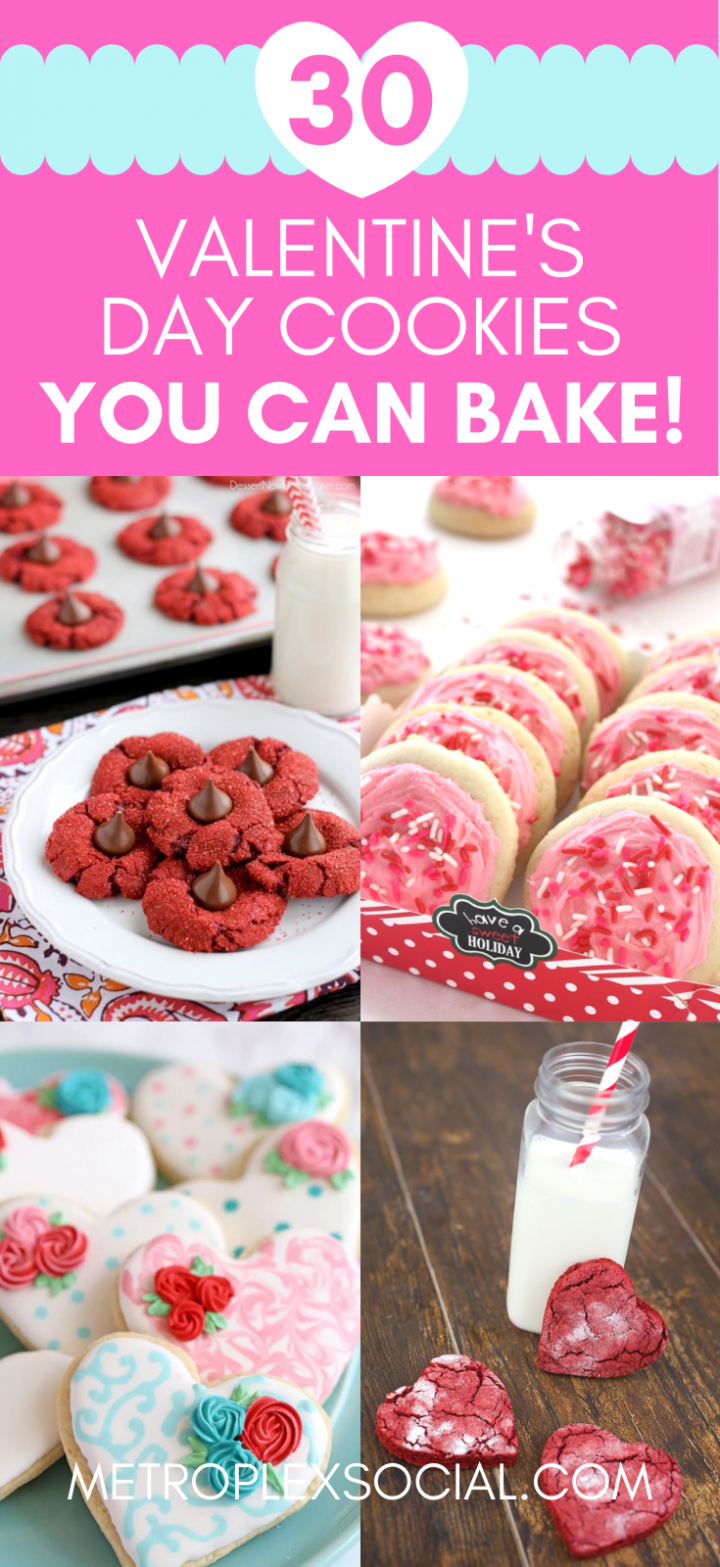 cute easy valentines day cookies