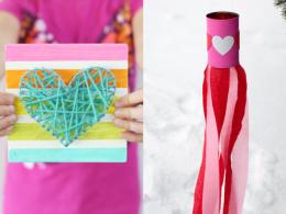 kids valentines day crafts 2