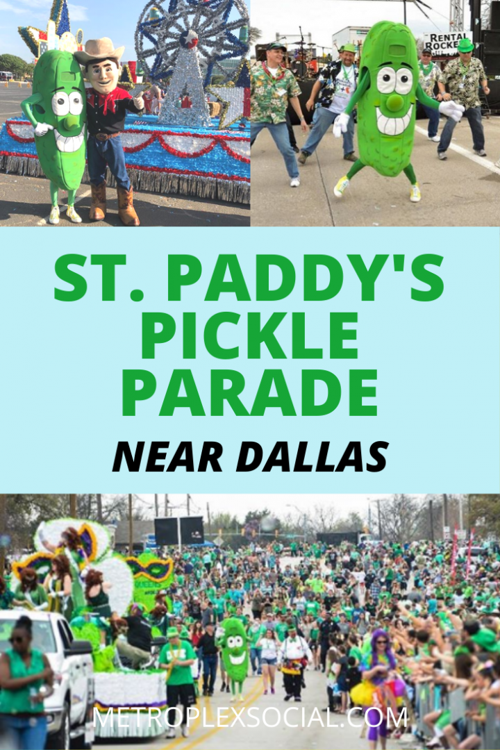 Mansfield Christmas Parade 2020 CANCELED! World's Only Pickle Parade Is Coming To Dallas Fort Worth