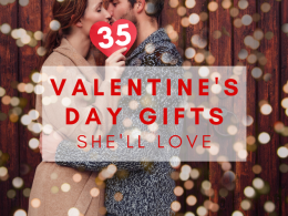 best valentines day gift ideas for her