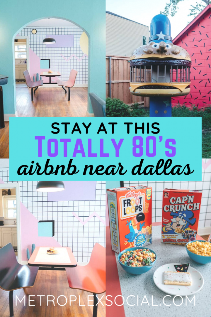 80s vacation rental airnbnb house near dallas