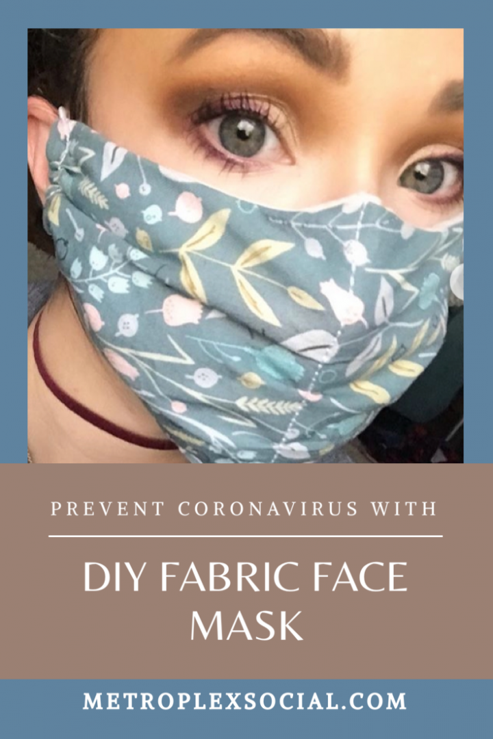 diy face mask pattern