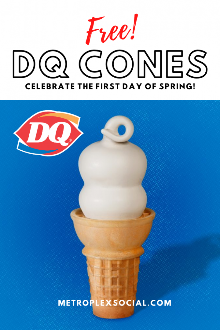 texas dairy queen free cone day