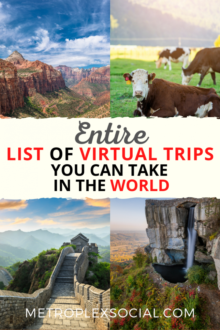 list virtual trips social distancing home school