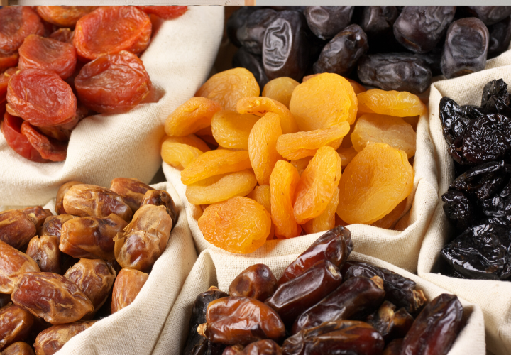 dried fruits survival foods