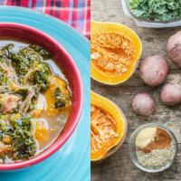 one pot meal potato kale soup recipe