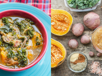 one pot meal potato kale soup recipe