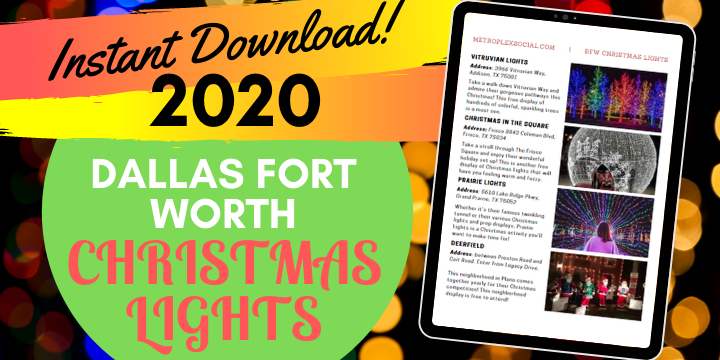 christmas lights in dallas fort worth best list