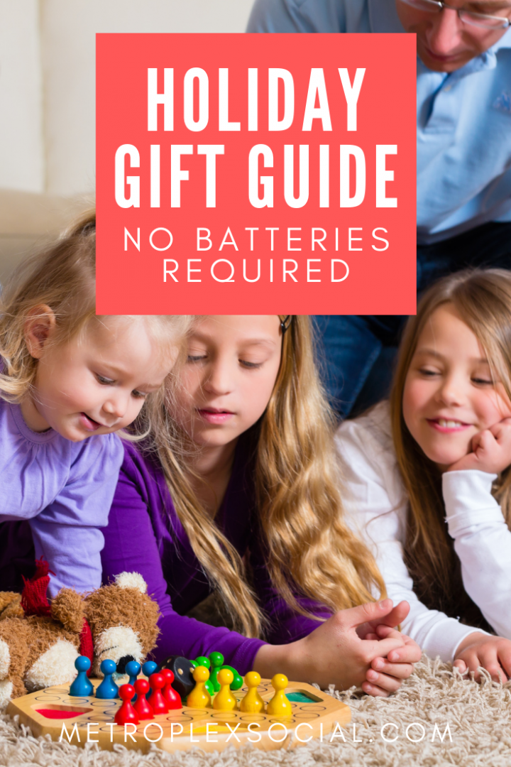 holiday gift guide no batteries