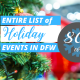 list holiday events in dallas